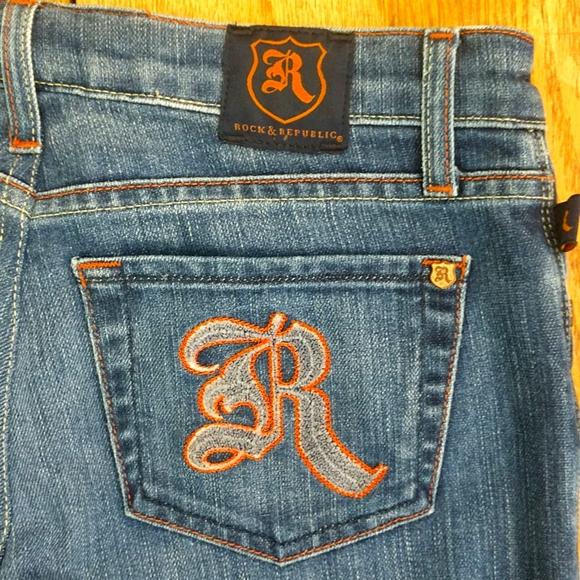Rock & Republic low rise vintage jeans size 26Long